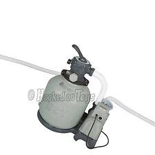 Intex Krystal Clear 3000 GPH Sand Filter Pump for Above Ground Pool - 28651EG