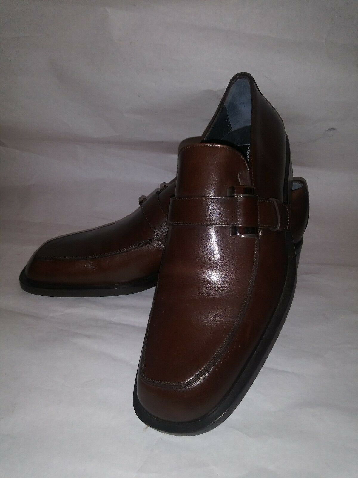 Cesare  Paciotti Marronee Leather scarpe Dimensione 7 made in  (new)  edizione limitata