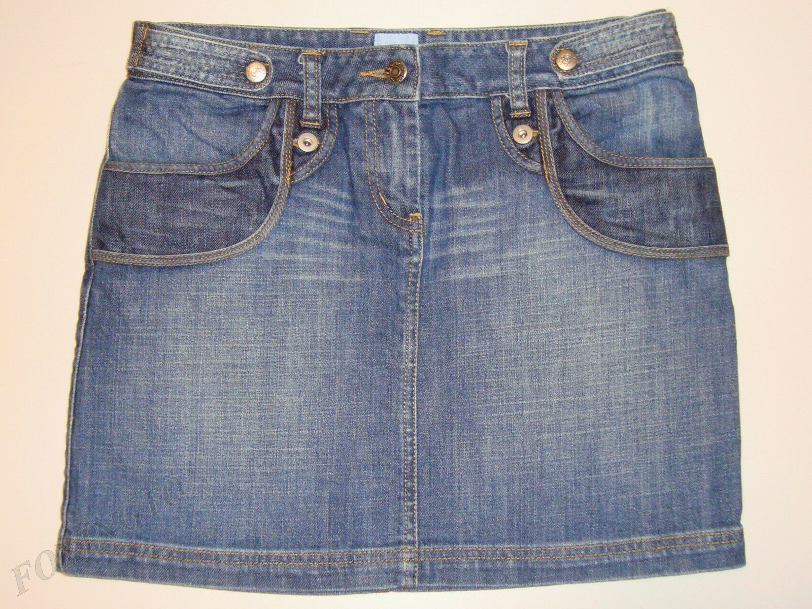 BEAUTIFUL SASS&BIDE VINTAGE blueE WASH DENIM SKIRT 28  MISSING IN MEXICO