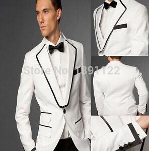 Groom Tuxedos 2018 Formal Best Men\'s Suits Groomsman Bridegroom ...