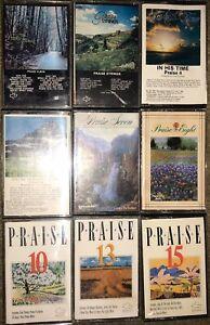 LOT-OF-9-Maranatha-Praise-CASSETTE-TAPES-THE-ALBUM-STRINGS-4-5-7-8-10-13-15