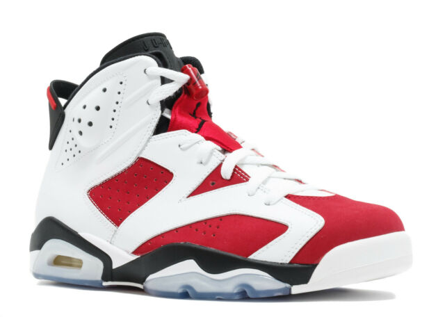 air jordan 6 red and white