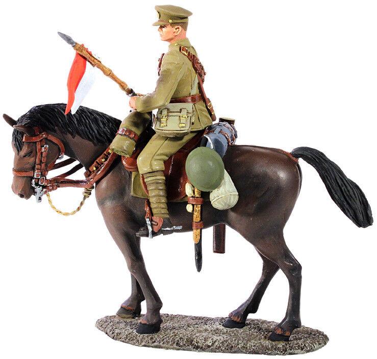 W Regno Unito - Guerra Mondiale I 1916-18 Lancer britannico Mounted No.1 23062 WWI
