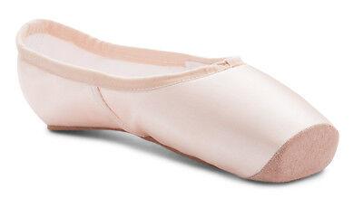 Katz Rosa Satinado PROFESIONAL Ballet Puntera Zapatos Duro Caña de ante punta