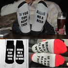 US Stock Custom wine socks If You can read this Bring Me a Glass of Wine  Socks