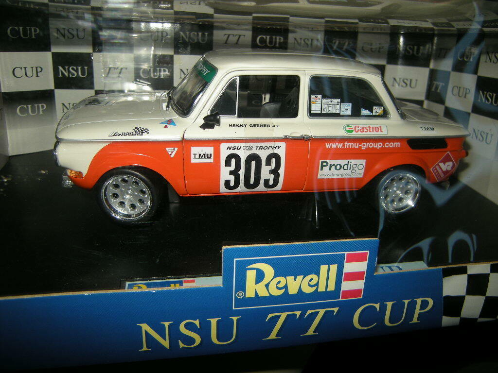 1 18 REVELL NSU TT RACING H. geenen  303 n. 08462 IN SCATOLA ORIGINALE
