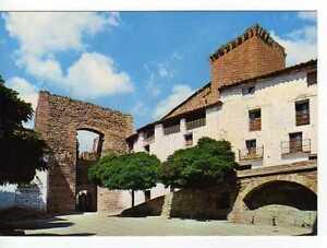 Postal Mora de Rubielos (Teruel) Plaza de los Olmos.