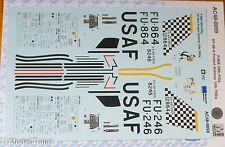 Microscale Decal #AC48-0059 F-86E 39th FISq RF-86-A Project Ashtray 15th TRSq