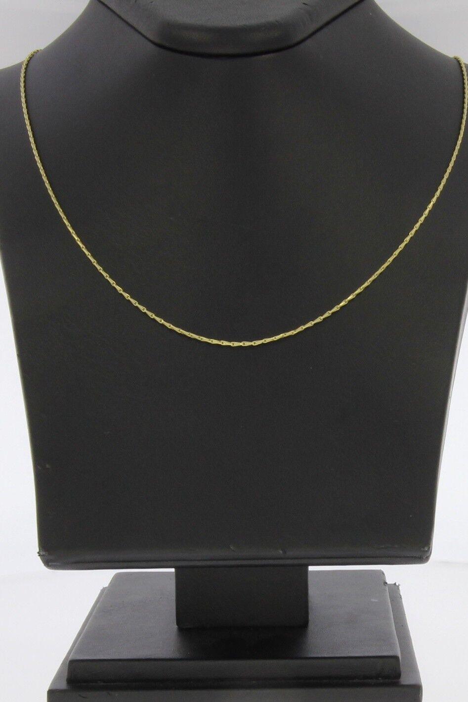 9047-333er yellowgoldkette Lang 55 cm Breit 0,6 mm Gewicht 2,3 Gramm
