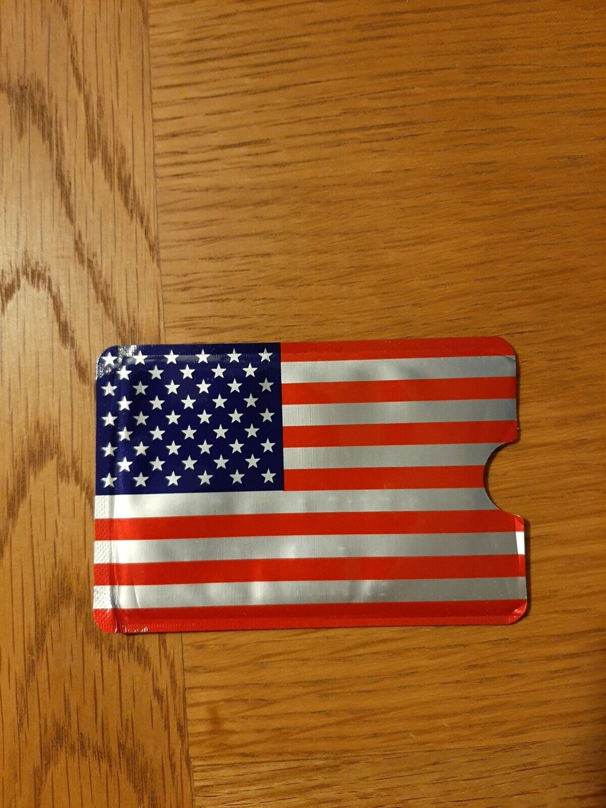 RFID Card Holder/Protector. Stars And Stripes