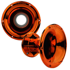 "PRV Audio WGP14-50 Orange CR 2"" Bolt-On Waveguide Midrange Tweeter Horn 45?X45?"