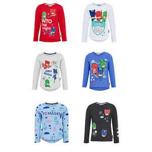 Girls-Pj-Masks-Long-Sleeve-T-Shirts-New-for-AW-18-19-Owlette-Tops