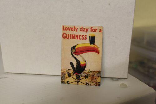 Metal Drinks Sign  = Guinness DOLLS HOUSE