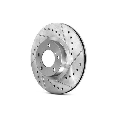 For Acura ILX 13-15 Brake Rotor Select Sport Drilled /& Slotted 1-Piece Front
