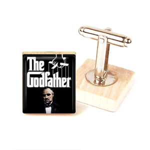 The Godfather Cufflinks Marlon Brando Godfather Movie Cufflinks Handmade Unique