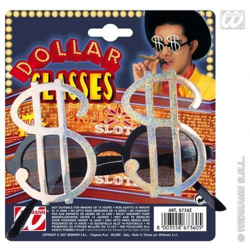 Dollar américain symbole monétaire Lunettes Lunettes De Soleil Nouveauté Déguisement pimp