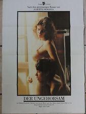 Kinoplakat DER UNGEHORSAM Stefania Sandrelli Erotik Aldo Lado