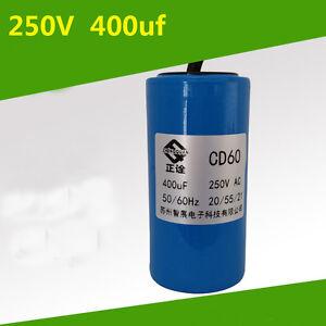 CD60 Motor Starting Capacitor 250uF 250VAC
