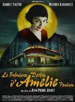 Amelie Movie Poster : 12 X 17 Inches : Audrey Tautou Poster