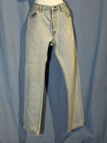 VINTAGE LEVis 501 Distressed Jeans - image 1