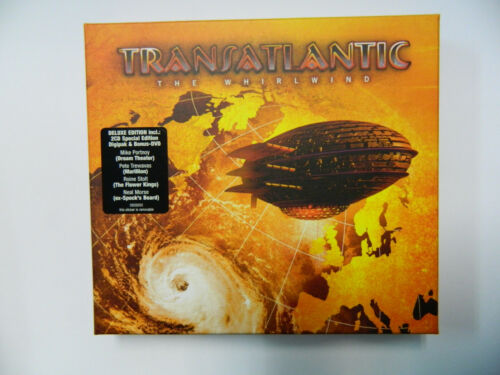 1 von 1 - Transatlantic - The Whirlwind  - CD Ltd. 2x CD + DVD