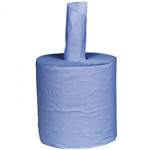 MECHANICS-WORKSHOP-PAPER-WIPER-ROLL-2-PLY-BLUE-CENTREFEED-CATERING-MOTOR-GARAGE