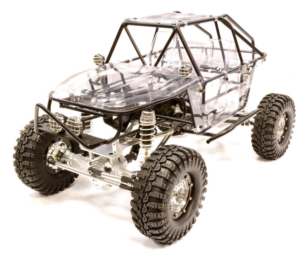 C 25799 Aleación De Plata 1 10 RCT1.9 Roll Cage Tipo Trail Racer 4WD Escala Crawler Artr
