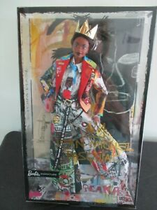Barbie x Jean Michel Basquiat Barbie Signature Doll In Hand SHIPS SAME DAY