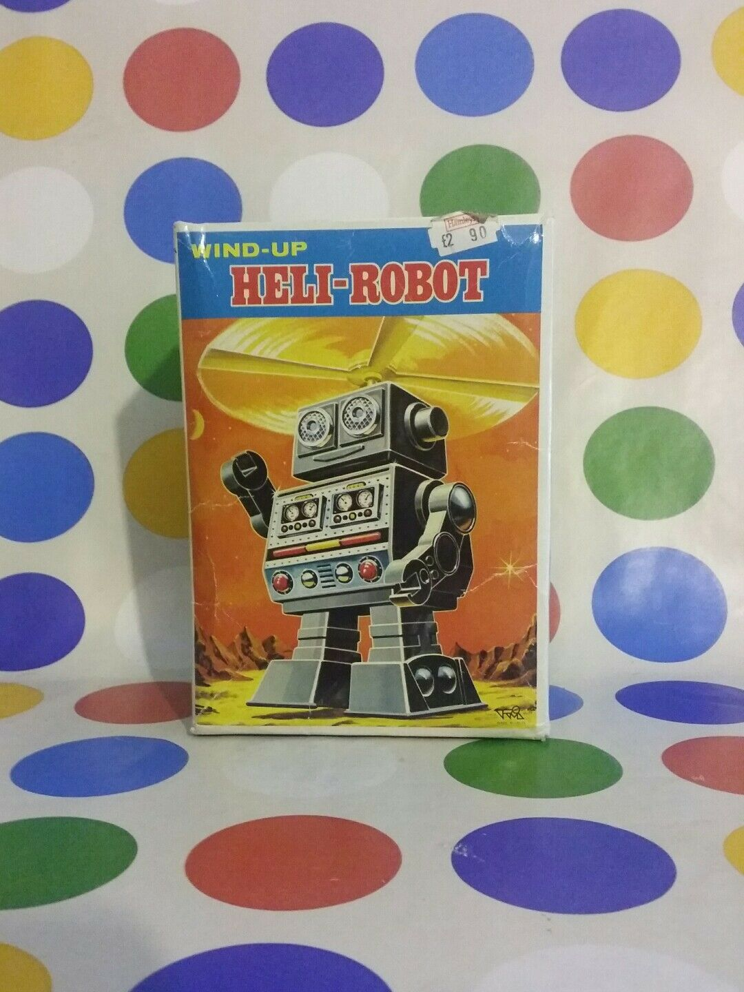 HORIKAWA HELI-ROBOT rojo RARE VERSION BOXED   - SERIOUS OFFERS ARE WELCOME