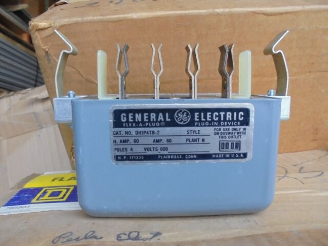 General Electric GE Dh1p4tb-2 Disconnect Switch Flex-a-plug 4 Poles ...