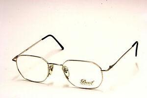 Occhiale Da Vista / Eyeglasses Vintage Desil Lilla' - Laminato Oro 14 Kt. cPSkZmUD0