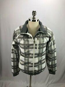 Empyre-Clothing-Gray-White-Plaid-Weather-Ski-Jacket-S