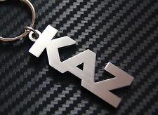 KAZ Personalised Name Keyring Keychain Key Fob Bespoke Stainless Steel Gift
