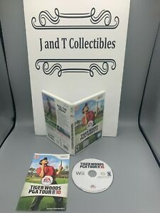 Nintendo Wii: Tiger Woods PGA Tour 10, Complete, Clean & Tested