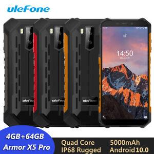 Ulefone Armor X5 Pro 5.5'' HD+ IP68/IP69K Rugged Waterproof Smartphone 4GB 64GB