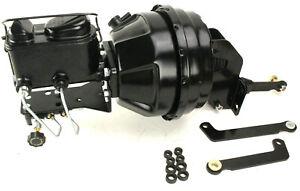 "Mopar 8/"" dual bendix style brake booster with master cylinder /& brackets"