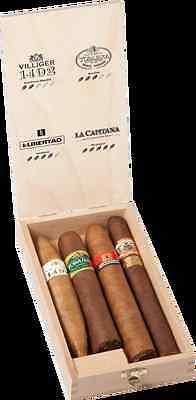 VILLIGER Edicion Limitada - 4 verschiedene Zigarren - 4 verschiedene Länder