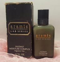 Aramis Lab Series 1.7 Oz Instant Moisture Complex Rare