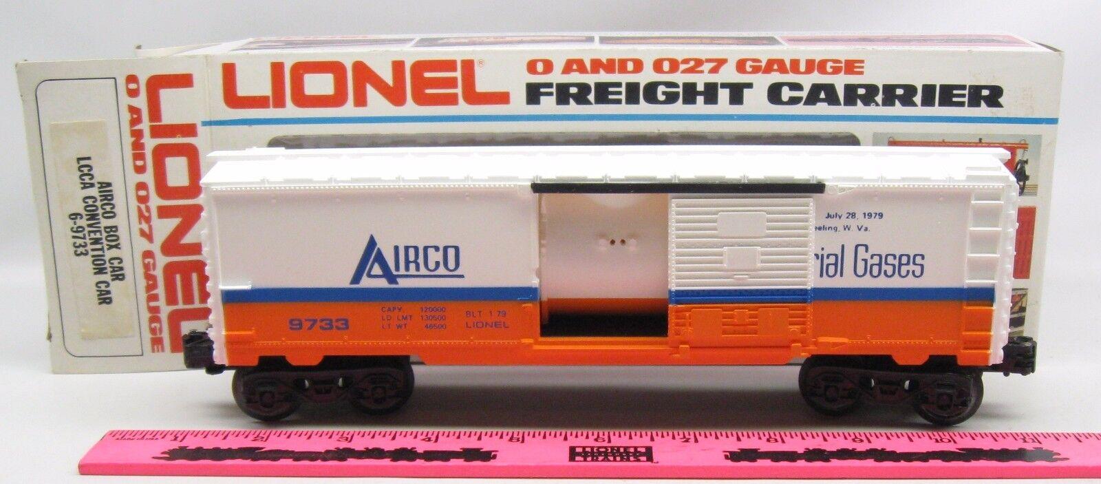 Lionel  6-9733 Airco Box car LCCA convention car