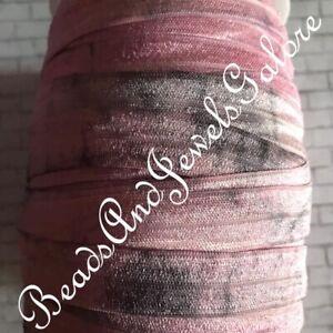 Tie dye foe inspired tie dye elastic Tie dye hair ties tie dye headband-5//8