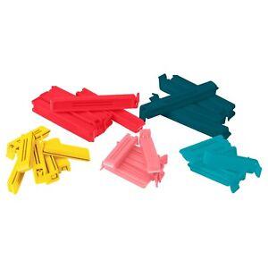 30-x-IKEA-Bevara-Plastic-Food-Storage-Bag-Sealing-Clips-Locks-Assorted-Sizes