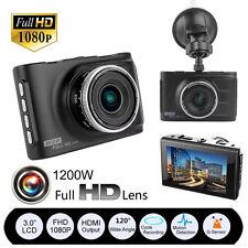 "3"" Full HD 1080P Car DVR CCTV Dash Camera G-sensor Vehicle Video Cam Recorder BP"