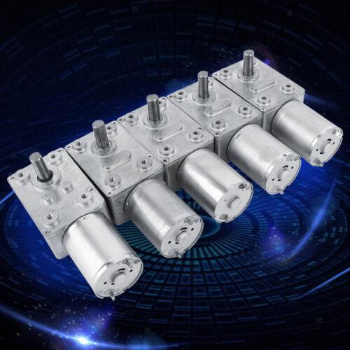 DC 6V Worm Gear Reduction Motor Metal Gear Box High Torque Motor NEW Varied