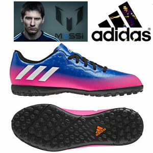 ADIDAS-MESSI-16-4-JUNIORS-BOYS-ASTRO-TURF-FOOTBALL-SOCCER-BOOTS-TRAINERS-SIZE