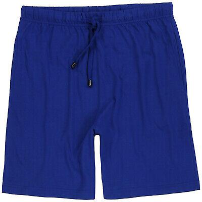 Adamo kurze Jogginghose blau melange 2XL,3XL,4XL,5XL,6XL,7XL,8XL,9XL,10XL,12XL