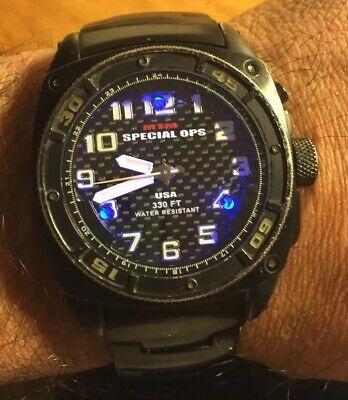 MTM Special Ops Black Hawk Limited Edition for men Herrenuhr voll funktionsfähig   eBay