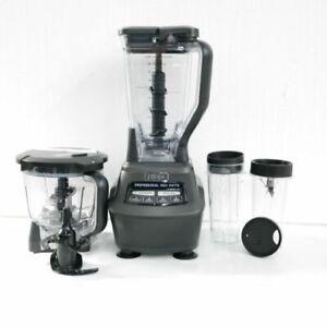 Ninja Mega Kitchen System 72 Oz Blender Pitcher Bowl Cups Bl770 Free Shipping Ebay