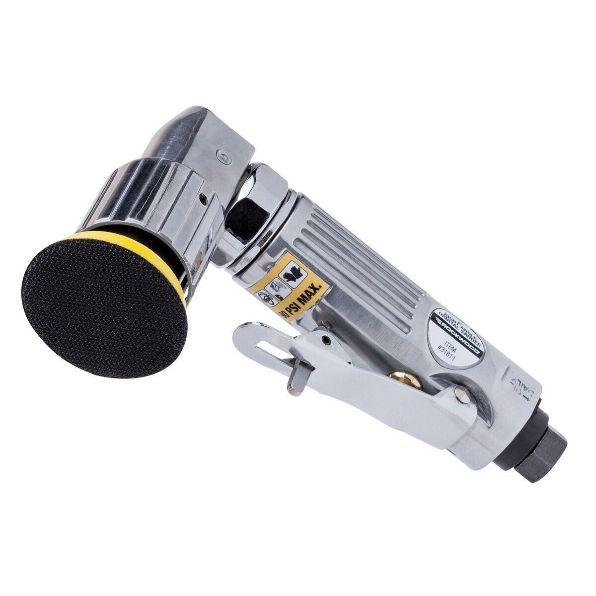 Rockwood 2 inch Air Elbow Right Angle Oribtal Sander Machine Tool Speed Control. Buy it now for 33.99