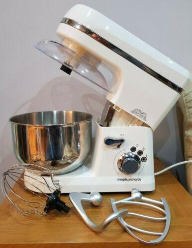 Morphy Richards Total Control Mixer con base 5L 800W-Bianco (400015)