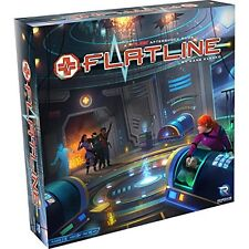 Flatline A Fuse Aftershock Board Game Renegade Game Studios RGS00565 Dice Card